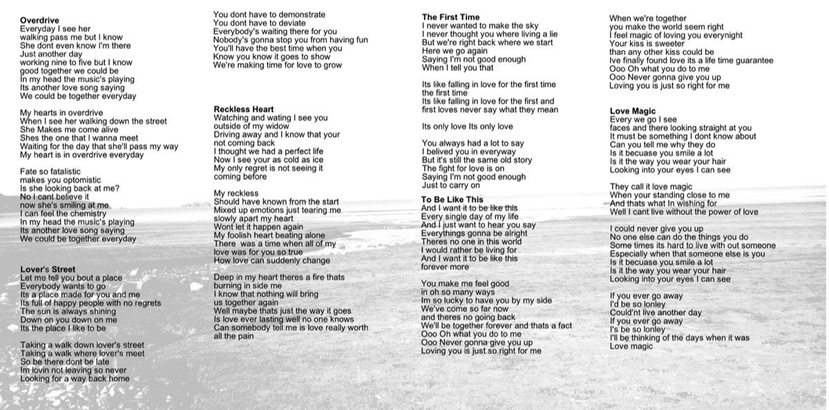 Lyric like this lyrics : lyrics